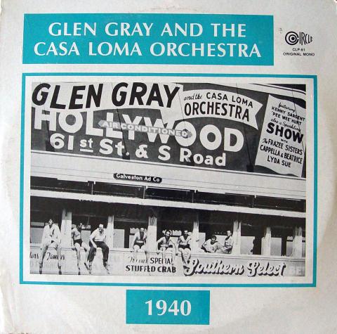 """Glen Gray and the Casa Loma Orchestra Vinyl 12"""" (New)"""
