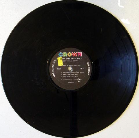 "Continental Octette Vinyl 12"""