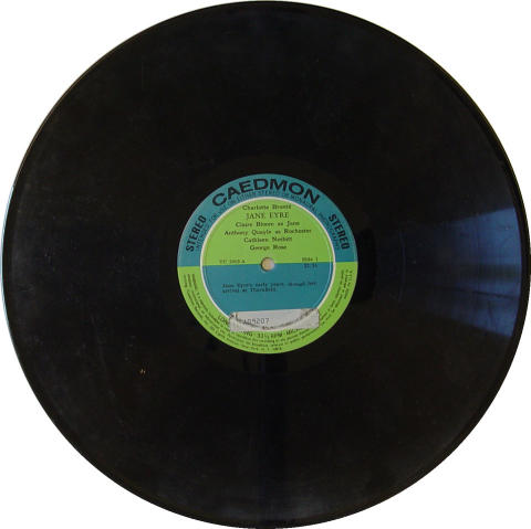 "Charlotte Bronte Vinyl 12"""