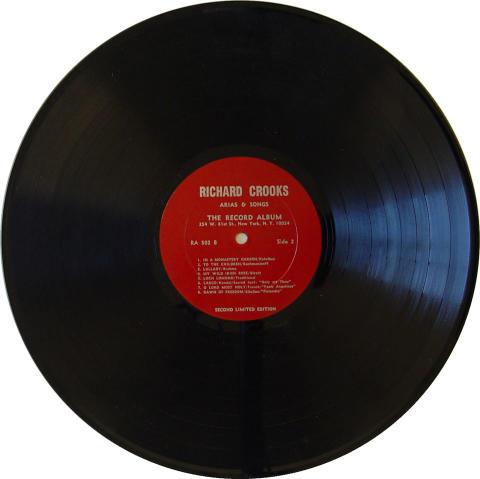 "Richard Crooks Vinyl 12"""