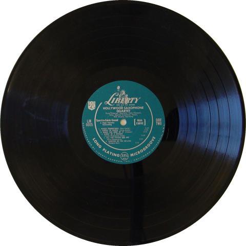 """Hollywood Saxophone Quartet Vinyl 12"""""""
