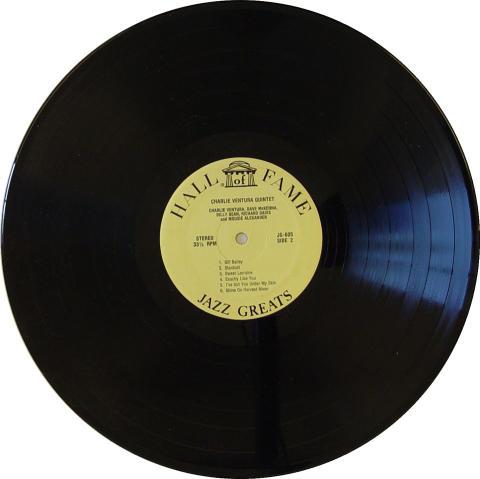 """Charlie Ventura Quintet Vinyl 12"""""""