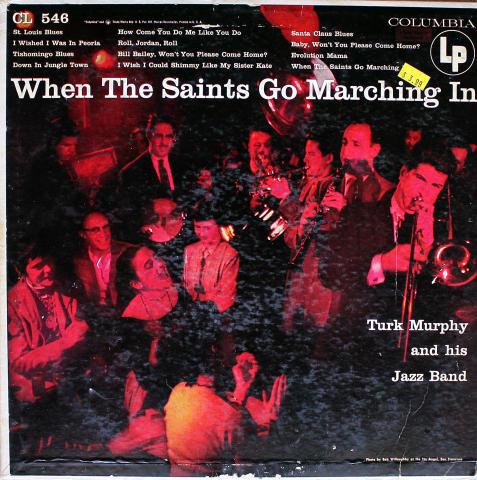 "Turk Murphy And His Jazz Band Vinyl 12"""