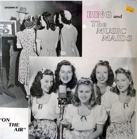 Bing And The Music Maids Vinyl 12""