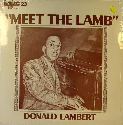 """Donald Lambert Vinyl 12"""""""