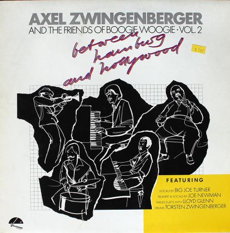 """Axel Zwingenberger Vinyl 12"""""""