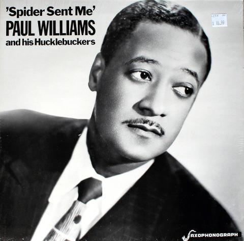 "Paul Williams And His Hucklebuckers Vinyl 12"""