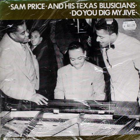 "Sam Price And His Texas Blusicians Vinyl 12"""