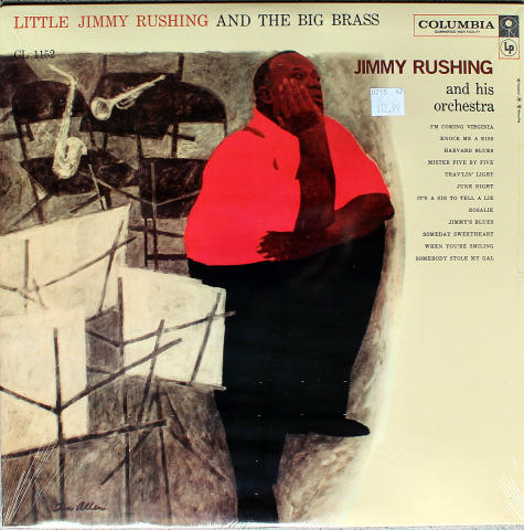 """Jimmy Rushing And His Orchestra Vinyl 12"""""""