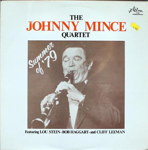 "The Johnny Mince Quartet Vinyl 12"""