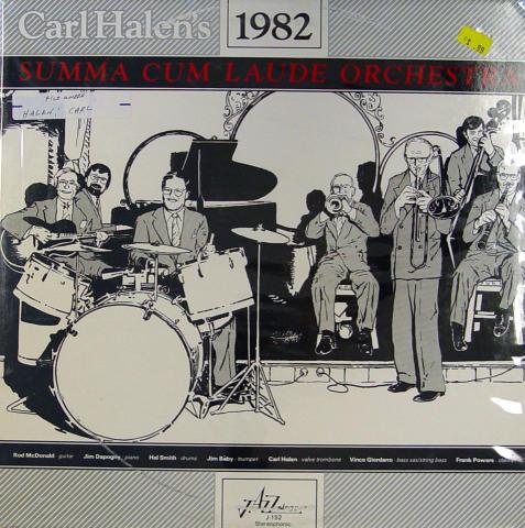 "Carl Halen's Summa Cum Laude Orchestra Vinyl 12"""