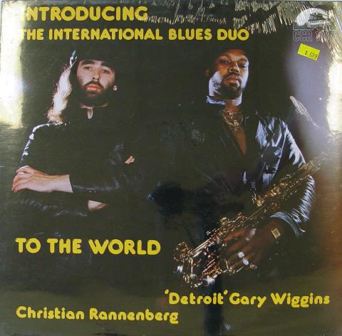 "Detroit Gary Wiggins / Christian Rannenberg Vinyl 12"""