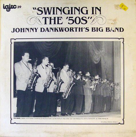 "Johnny Dankworth's Big Band Vinyl 12"""