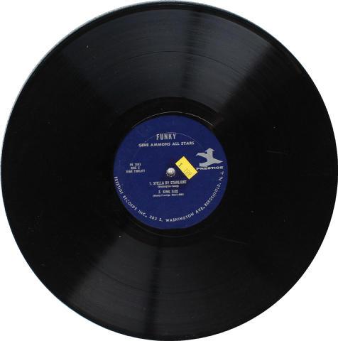 """Gene Ammons All Stars Vinyl 12"""""""