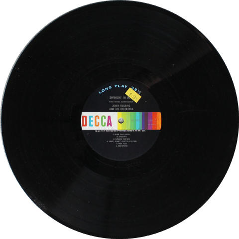 """Jerry Fielding And His Orchestra Vinyl 12"""""""
