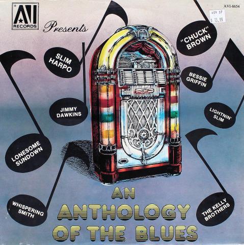 "An Anthology Of The Blues Vinyl 12"""