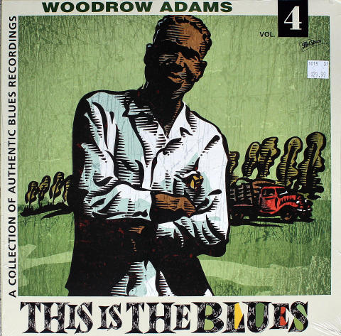 "Woodrow Adams Vinyl 12"""
