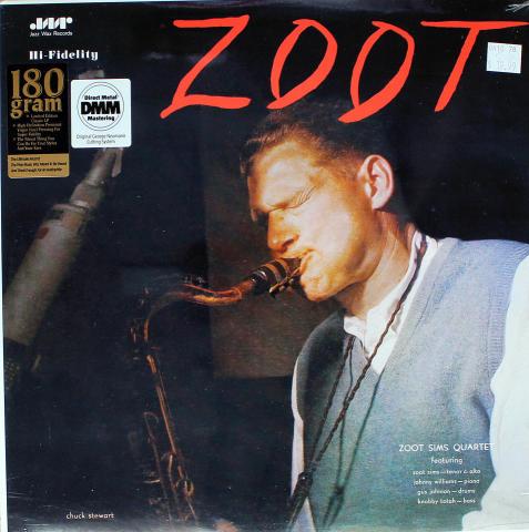 """Zoot Sims Quartet Vinyl 12"""""""