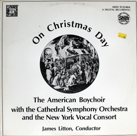 "The American Boychoir Vinyl 12"""