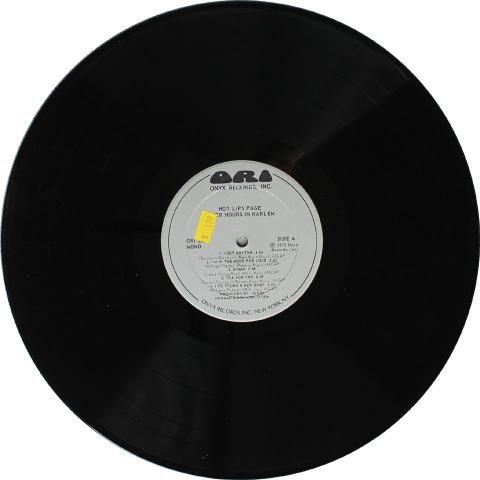 """Hot Lips"" Page Vinyl 12"""