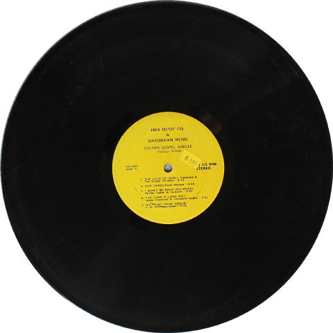 Golden Gospel Jubilee Vinyl 12""