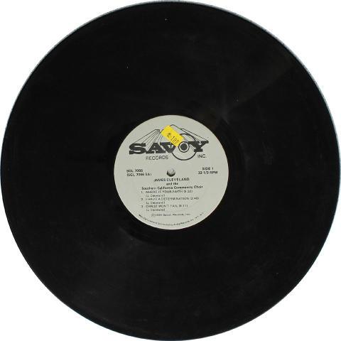 "James Cleveland Vinyl 12"""