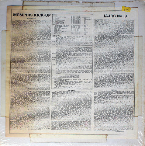 "Memphis Kick Up Vinyl 12"""