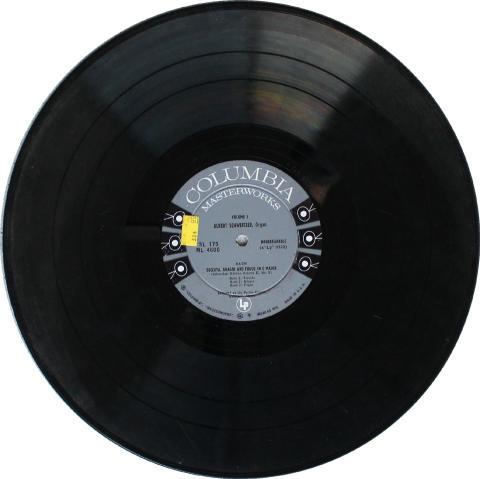 """Albert Schweitzer Vinyl 12"""""""