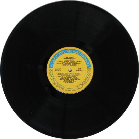 "30 Piano Masterpieces Highlights Vinyl 12"""