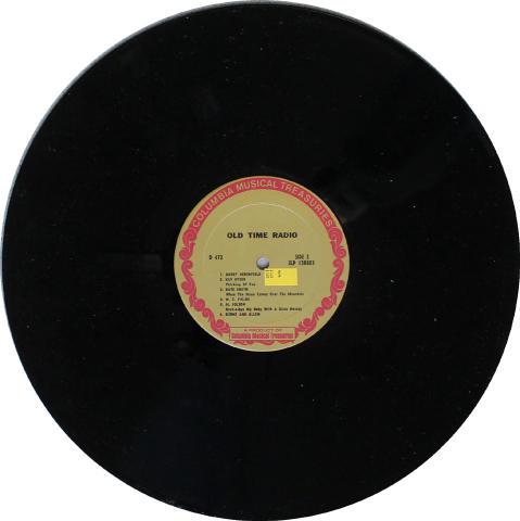 "Dinah Shore Vinyl 12"""