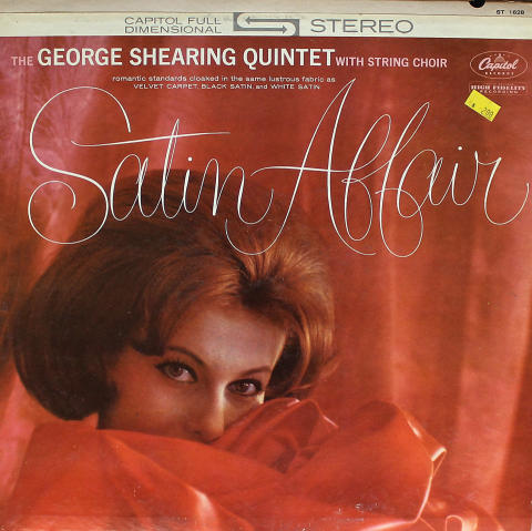 """The George Shearing Quintet With Strings Vinyl 12"""""""