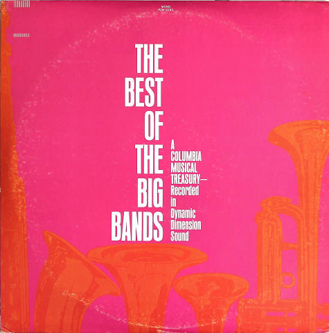 """The Best of the Big Bands Vinyl 12"""""""