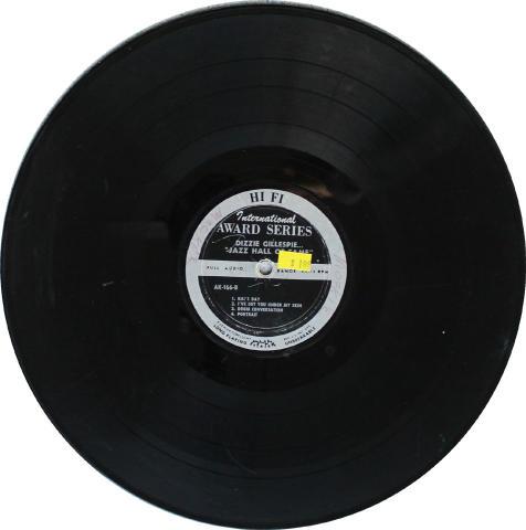 """Dizzie Gillespie Vinyl 12"""""""