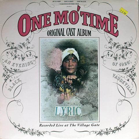 "One Mo' Time Vinyl 12"""