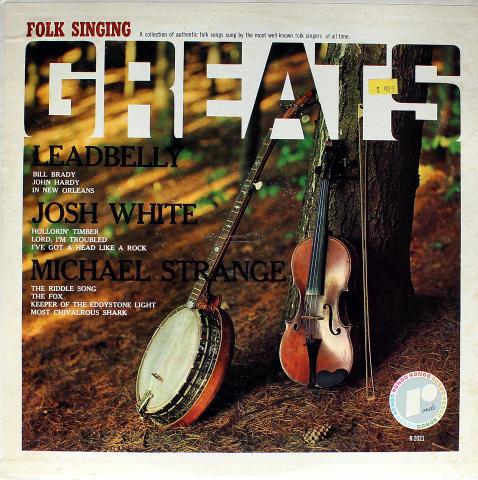 """Folk Singing Greats Vinyl 12"""""""