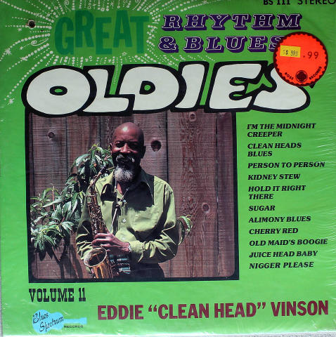 "Eddie ""Clean Head"" Vinson Vinyl 12"""