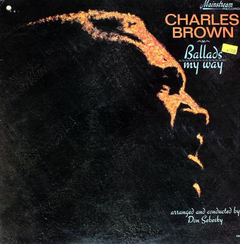 """Charles Brown Vinyl 12"""""""