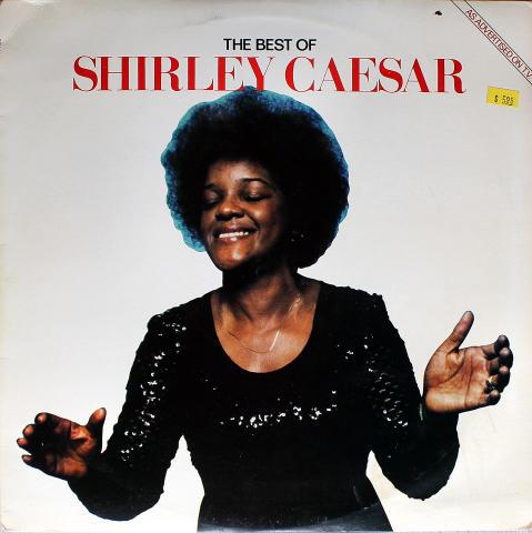 "Shirley Caesar Vinyl 12"""