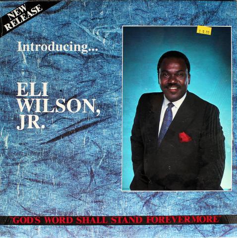 "Eli Wilson, Jr. Vinyl 12"""