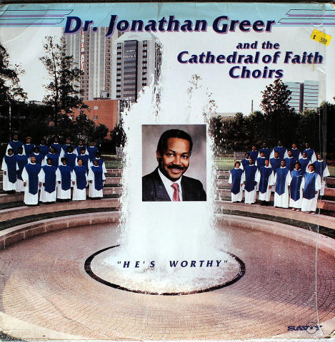 """Dr. Jonathan Greer And The Cathedral Of Faith Choirs Vinyl 12"""""""