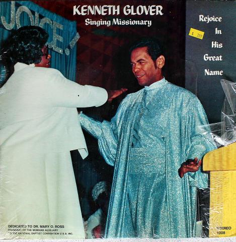 """Kenneth Glover Vinyl 12"""""""
