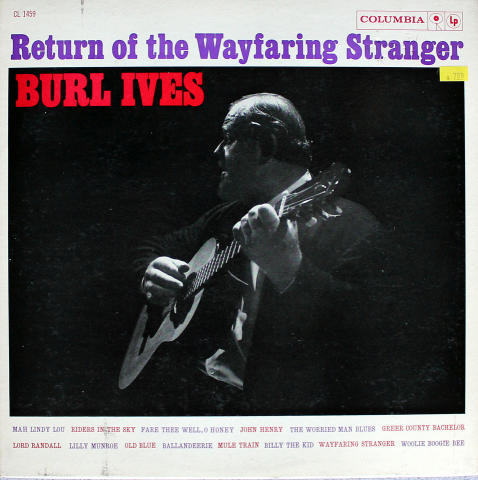 "Burl Ives Vinyl 12"""
