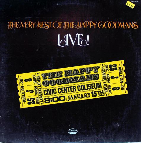 """The Happy Goodmans Vinyl 12"""""""
