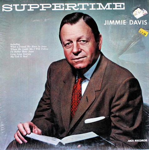 "Jimmie Davis Vinyl 12"""