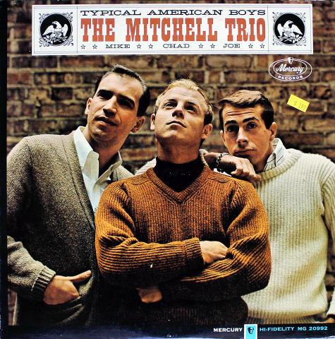 """The Mitchell Trio Vinyl 12"""""""