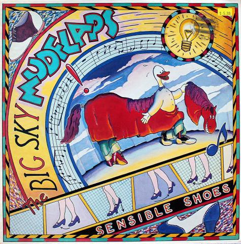 "The Big Sky Mudflaps Vinyl 12"""
