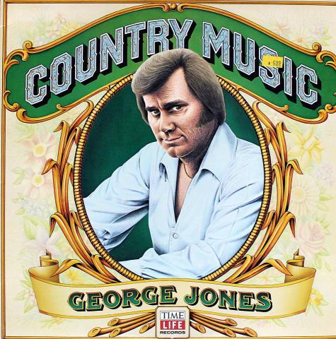 "George Jones Vinyl 12"""