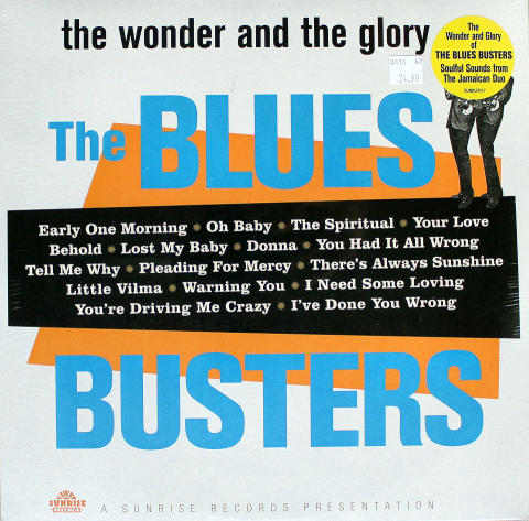 """The Blues Busters Vinyl 12"""""""