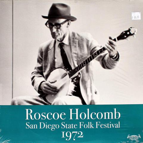 """Roscoe Holcomb Vinyl 12"""""""