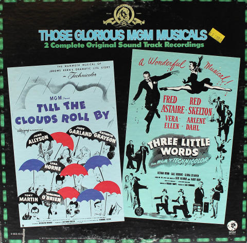 """Those Glorious MGM Musicals Vinyl 12"""""""